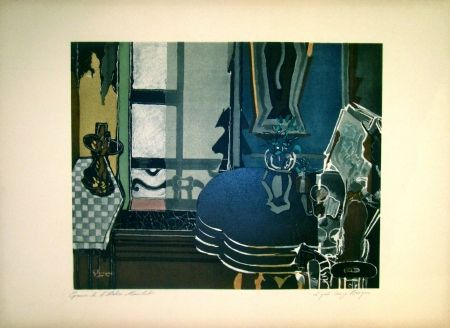 Lithograph Braque - Untitled