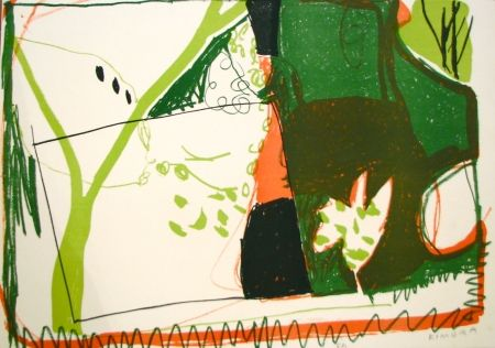 Lithograph Kimura - Untitled