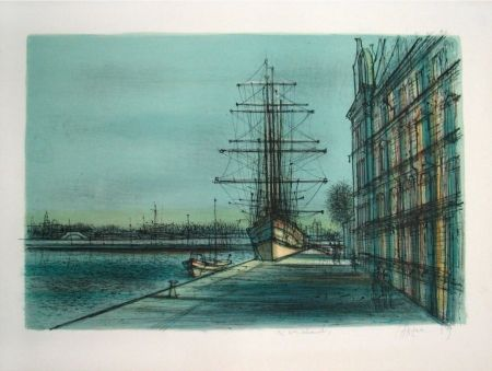 Lithograph Carzou - Untitled