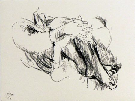 Lithograph Caro - Untitled