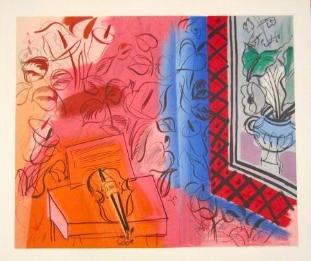 Lithograph Dufy - Untitled