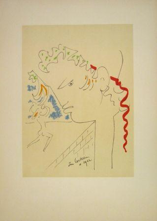 Lithograph Cocteau - Untitled