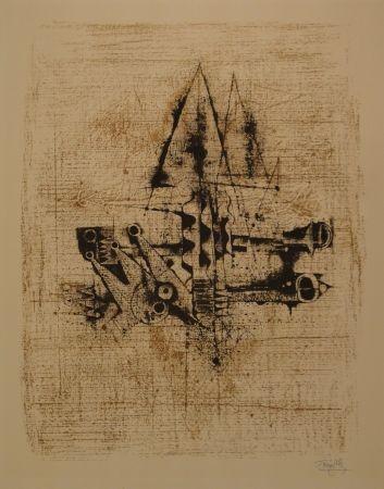Lithograph Friedlaender - Untitled