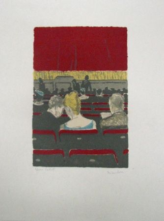 Lithograph Brianchon - Untitled