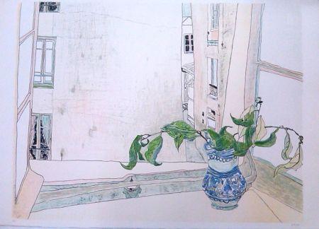 Lithograph Cristi - Untitled