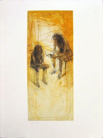 Etching Hohler - Untitled