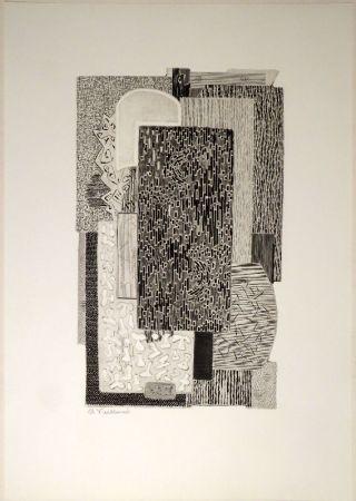 Etching Vieillard - Untitled