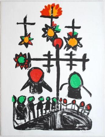Lithograph Ionesco - Untitled