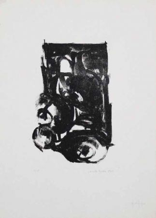 Lithograph Pyroth - Untitled