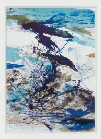 Lithograph Zao - Untitled