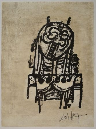 Lithograph Lam - Untitled