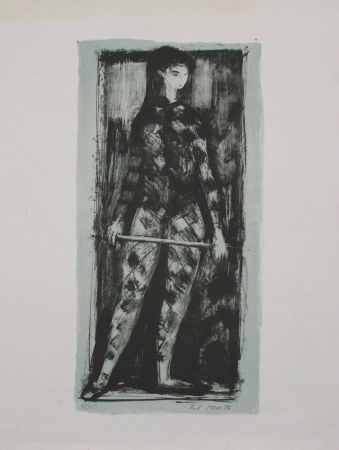 Lithograph Moser - Untitled