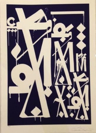 Screenprint Retna - Untitled
