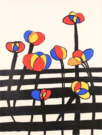 Lithograph Calder - Untitled