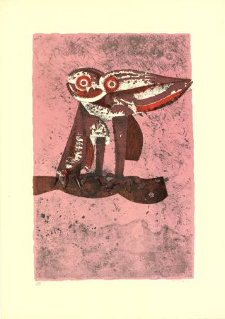 Lithograph Righi - Untitled