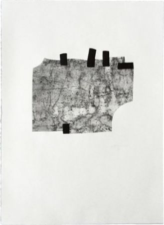 Etching Chillida - Untitled