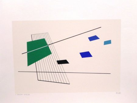 Lithograph Veronesi - UNTITLED