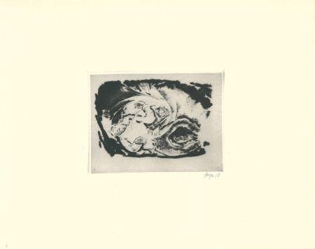 Drypoint Geiger - Untitled