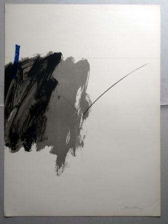 Lithograph Borrell Palazón - Untitled