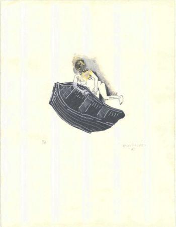 Lithograph González - Untitled