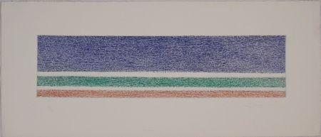 Etching And Aquatint Dorazio - Untitled