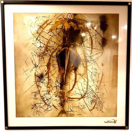 Lithograph Dali - Untitled
