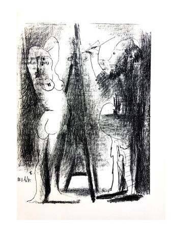 Lithograph Picasso (After) - Untitled