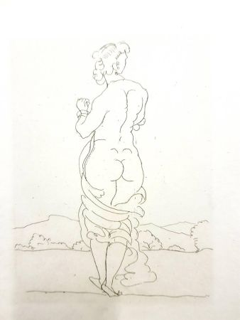 Lithograph Beaudin - Untitled