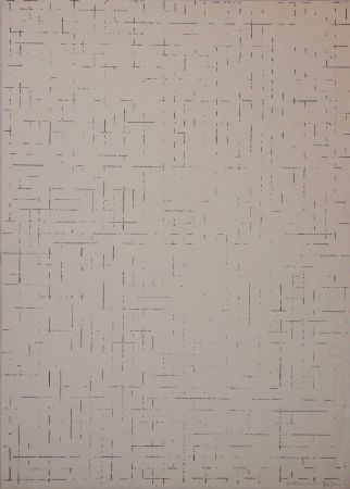 Screenprint Dadamaino - Untitled