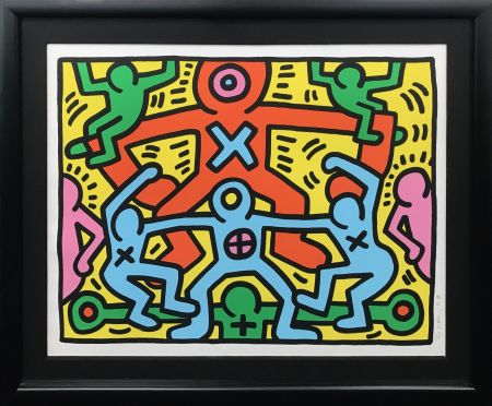 Screenprint Haring - UNTITLED
