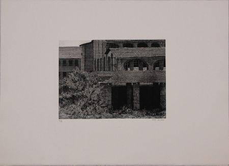 Engraving Cacciarini - Untitled