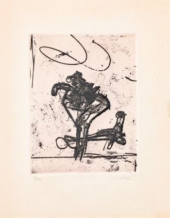 Etching And Aquatint Matta - Untitled