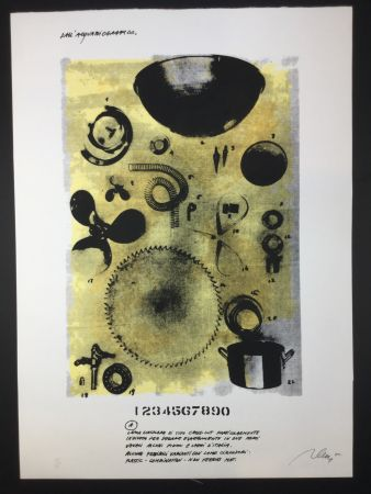 Lithograph Plessi - Untitled