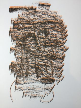 Lithograph Tozzi - Untitled