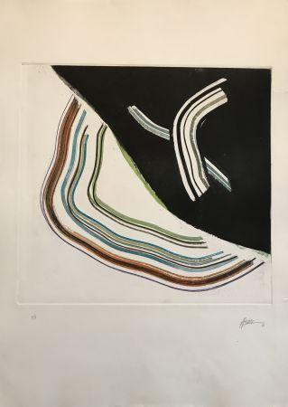 Etching And Aquatint Frattini - Untitled