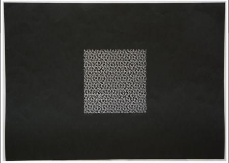 Screenprint Morellet - Untitled