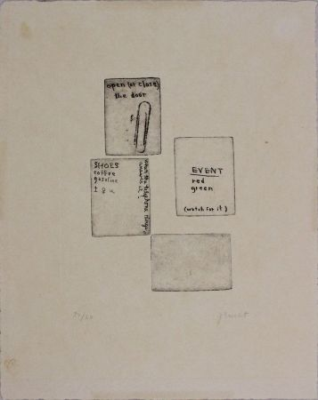 Engraving Brecht - Untitled
