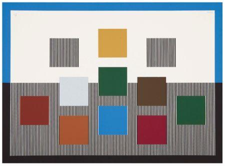Screenprint Soto - Untitled