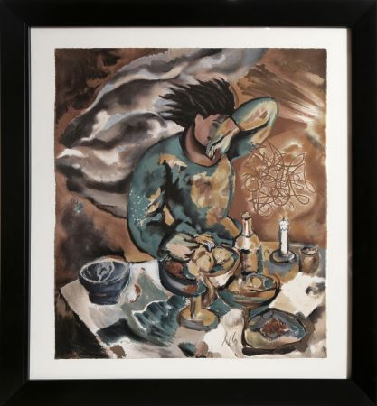 Lithograph Chia - Untitled - Dinner Table