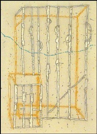 Etching Kauffman - Untitled #2