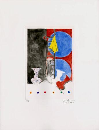 Aquatint Johns - Untitled (2012)