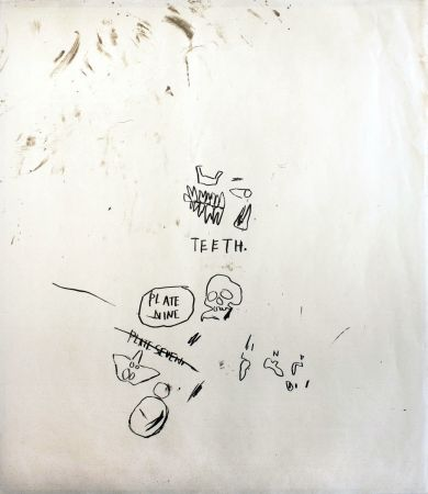 Screenprint Basquiat - Untitled 3 (from Leonardo)