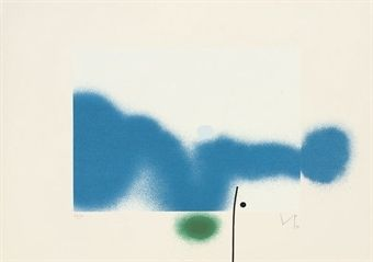 Screenprint Pasmore - Untitled 7