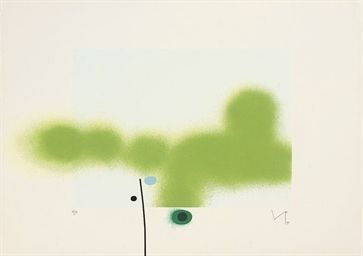 Screenprint Pasmore - Untitled 8