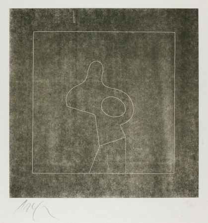 Woodcut Arp - Untitled (Abstraction)