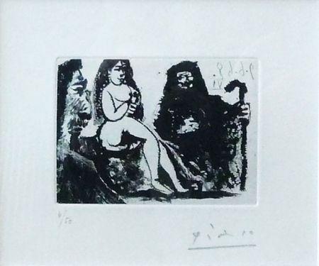 Aquatint Picasso - Untitled, Bloch #1631