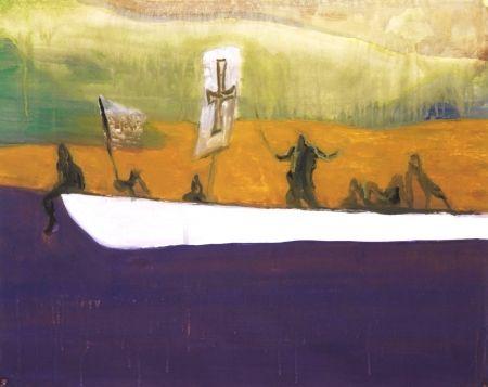 Aquatint Doig - Untitled (Canoe)