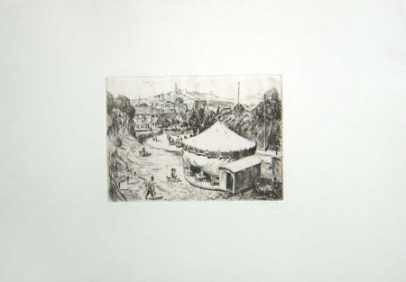 Etching North  - Untitled (Carousel)