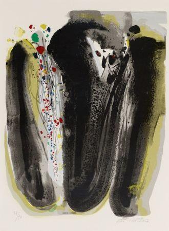 Lithograph Teh-Chun - Untitled, Circa