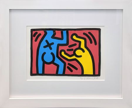 Lithograph Haring - UNTITLED (D)